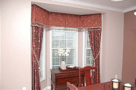 kitchen bay window curtain ideas bay windows decorating window living room how to solve the