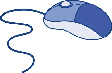 mouse clipart blue computer mouse free clip etc clip