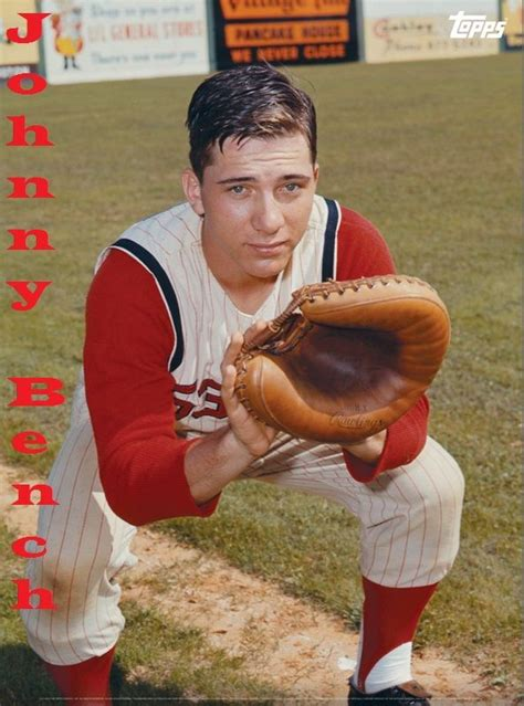 johnny bench birthday 17 best images about big red machine on pinterest