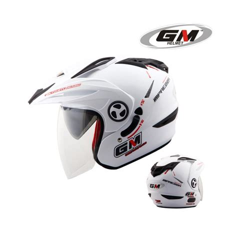 Helm Gm New Impreza 2 Visor Solid helm gm new imprezza solid pabrikhelm jual helm murah