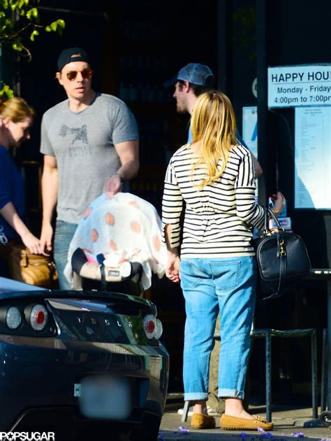 lincoln bell shepard kristen bell and dax shepard brought lincoln out in la