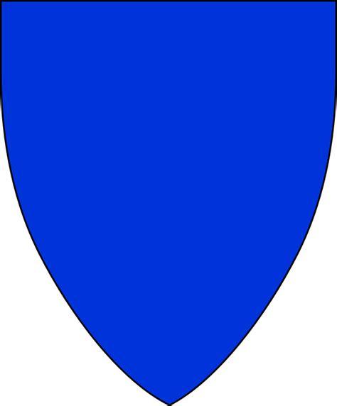 vector gratis escudo en blanco forma medieval imagen