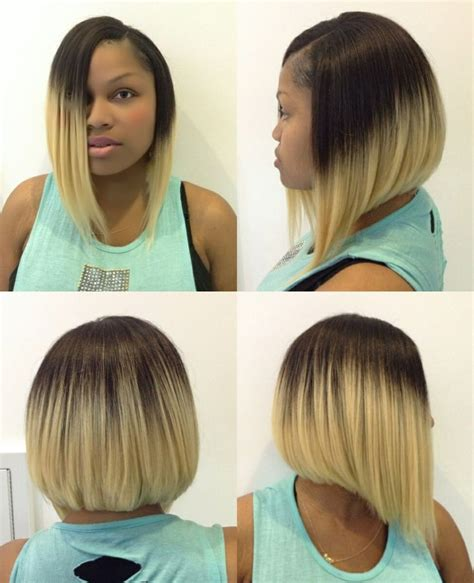 weave bob cut in one pack quick weave bob an blond pinterest the o jays
