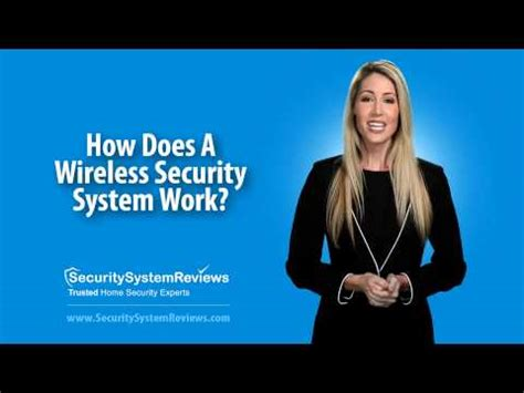 how does a wireless security system work its all about