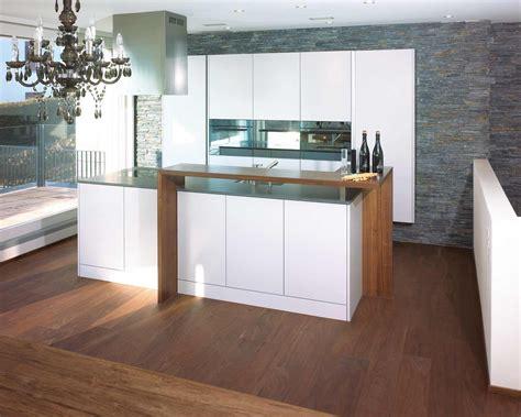glasfront küche wohnzimmer gardinen design