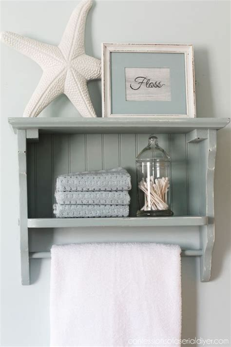 country bathroom shelves update an old country shelf with beadboard from