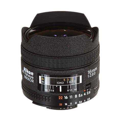 Lensa Fisheye Untuk Nikon D3100 jual nikon af 16mm f 2 8d fisheye lensa kamera harga kualitas terjamin blibli