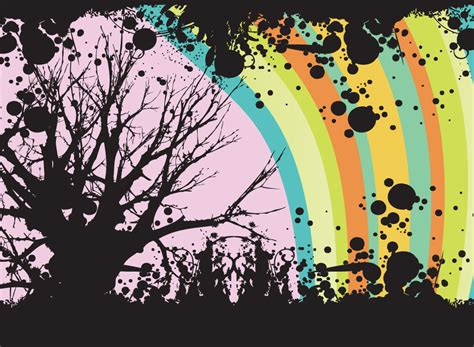 edgy tumblr themes free abstract tree background
