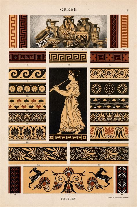 history of pattern in art antiquity ancient greece and rome atomorfen