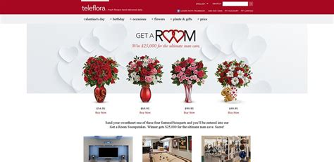 Room Makeover Sweepstakes 2015 - teleflora s get a room sweepstakes win 25 000 for the ultimate man cave