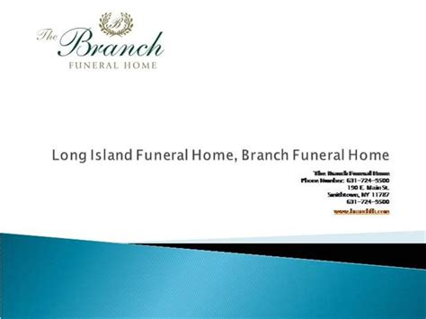 island funeral homes branch funeral home authorstream
