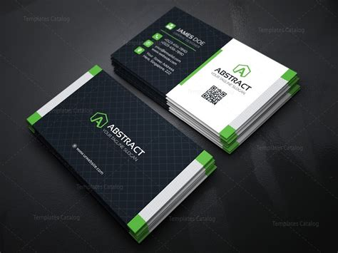 card design template stylish business card design template 000158 template