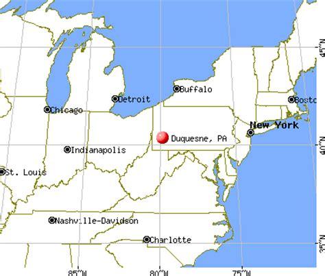 duquesne, pennsylvania (pa 15110) profile: population