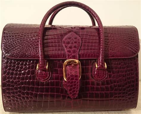 Tas Gucci Sei H 668 borsa gucci anni 60 70 in pelle di coccodrillo catawiki