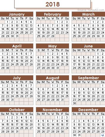 hijri calendar 2018 | monthly printable calendar