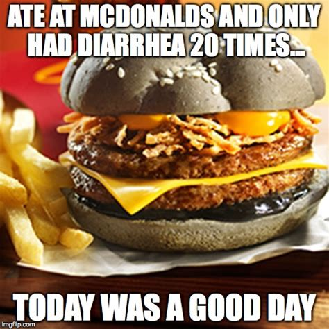 Meme Burger - and we ask is a mcdonalds burger unfit for human