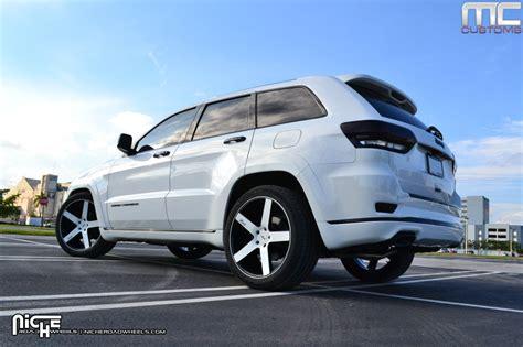 35 tire size jeep grand custom wheels niche milan m134 22x