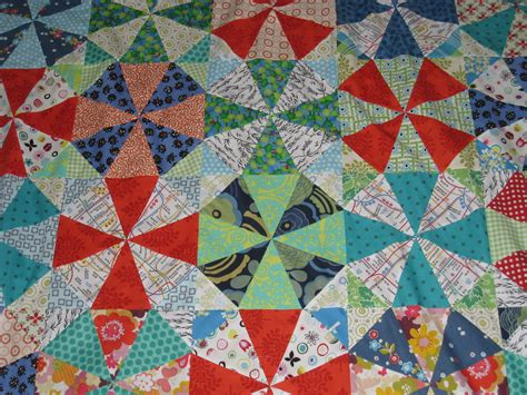 Kaleidoscope Quilting by Noga Quilts Kaleidoscope Quilt Top Finished