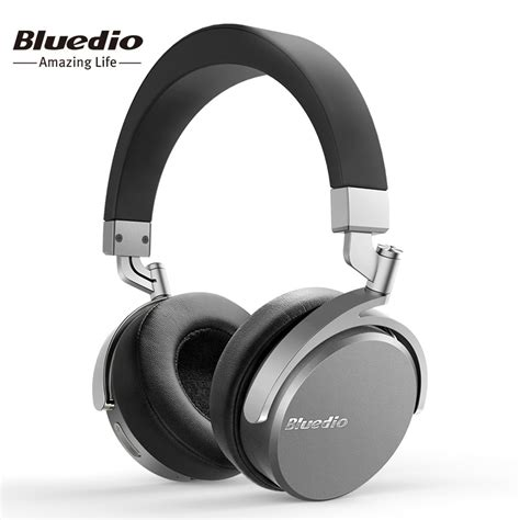 Headset Bluetooth Dual On bluedio vinyl premium wireless bluetooth headphones dual 180 degree rotation design on the ear