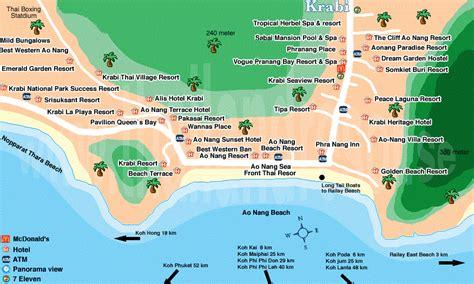 golden resort krabi map top 5 hotels in krabi i am a travel