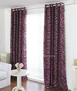 Pink And Black Curtains Inspiration Pink And Black Zebra Printing Buy Ready Made Curtains