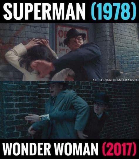 Woman Power Meme - wonder woman pays tribute to 1978 original superman