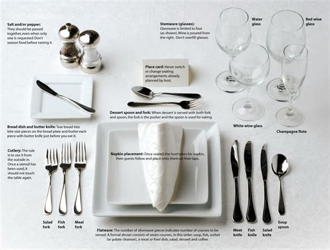 table setting etiquette rules of civility a guide to etiquette more