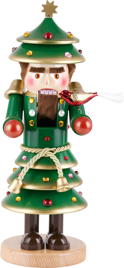 nutcracker christmas tree 40 cm 16in by steinbach