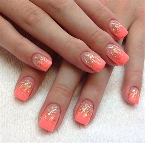 coral pattern nails the 25 best coral acrylic nails ideas on pinterest