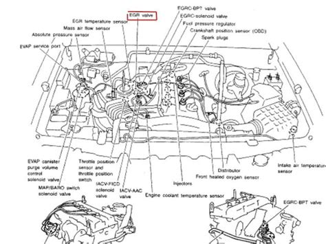 nissan frontier engine diagram wiring diagram with