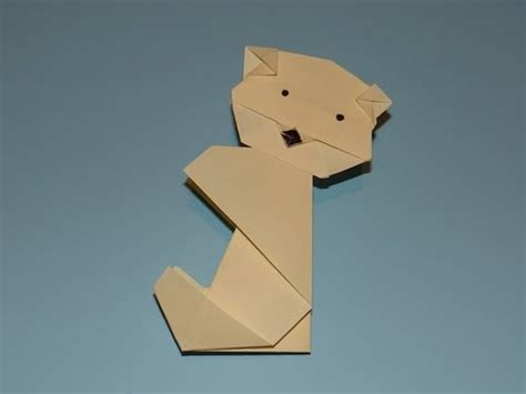 Origami Bears - how to make an origami
