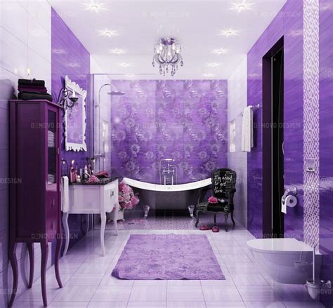 Purple Color Bathroom by 17 Best Ideas About Purple Bathrooms On