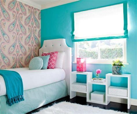 Supérieur Deco Chambre Bb Fille #5: 3-jolie-chambre-fille-de-couleur-bleu-ciel-chambre-de-fille-ado-idee-deco-chambre-ado.jpg