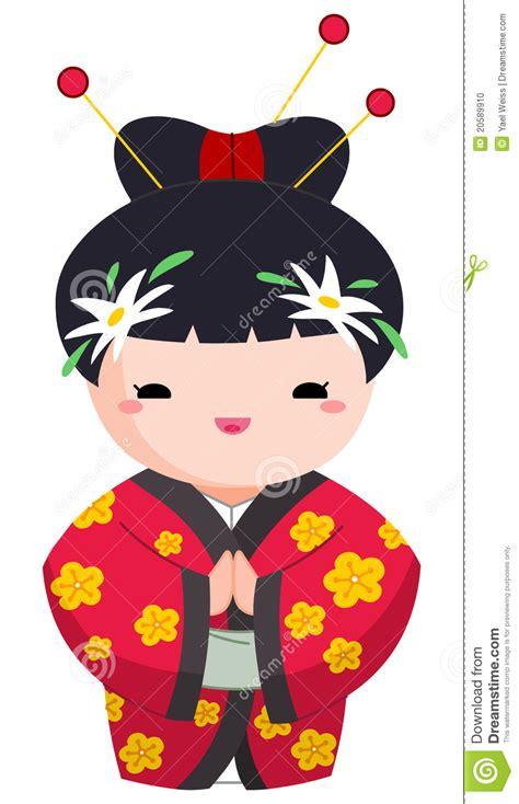 imagenes de geishas japonesas animadas menina japonesa ilustra 231 227 o do vetor imagem de menina