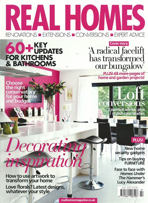 home magazines real homes magazine article published tom weller