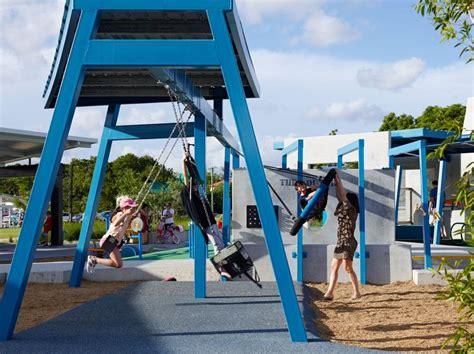 Landscape Structures Australia Frew Park Arena Play Structure Milton Brisbane