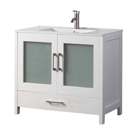 bathroom vanity 48 x 18 shop mtd vanities white integral single sink bathroom