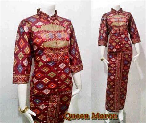 Setelan Batik Atas Bawah Merah setelan blouse batik atas bawah seri batik bagoes