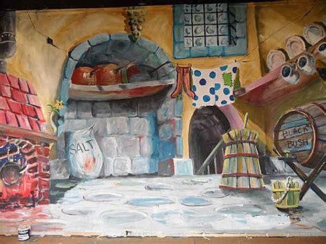 kitchen theatre little mermaid set ideas pinterest home page of set painting