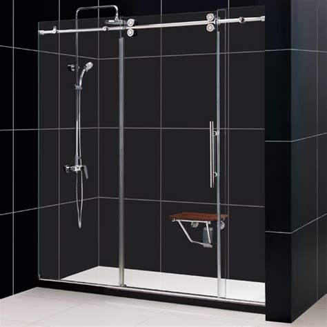 Dreamline Frameless Shower Doors Enigma Sliding Shower Door