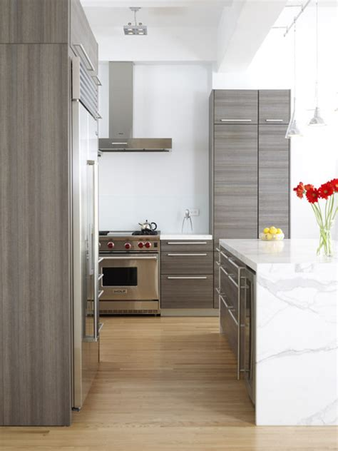 Loft Modern Kitchen chelsea loft