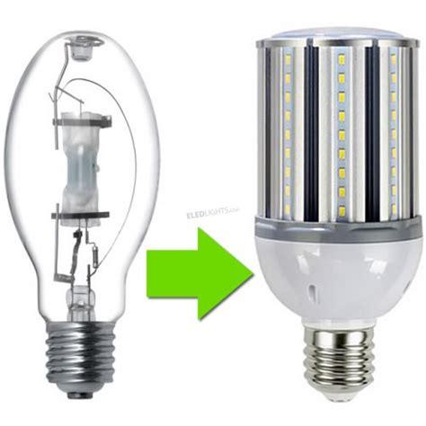 Replacing Light Bulbs With Led 100w Corn Cob Led Bulb Replaces 300w Metal Halide Hps Cfl Eledlights