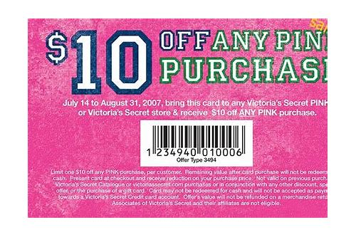 vic secret coupons
