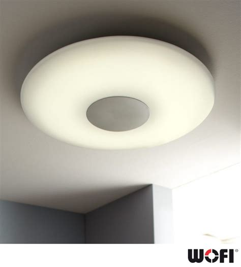 wofi sila led 1 light 60cm diameter dimmable remote