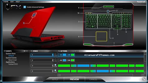 alienware keyboard themes download zelda master sword by richard alienware m17x r2 theme