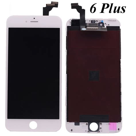 Screen Iphone 6 Plus apple iphone 6 plus white 5 5 quot lcd touch screen digitizer
