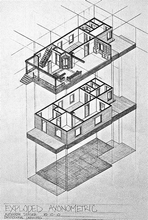 The Notebook House Floor Plan by My House Plan Sections Amp Axon Fall 2010 Alexandra