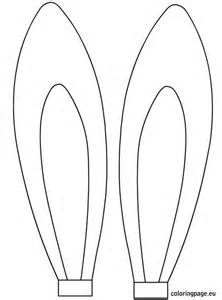 easter rabbit ears template easter