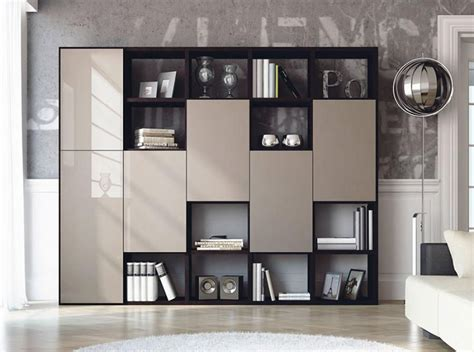 contemporary bookcase with doors modern bookshelf with doors interior barn doors