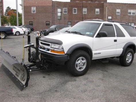 find used blazer 1997 4 doors running good in houston find used very clean 1999 s10 blazer zr2 with snow plow no rust in new rochelle new york